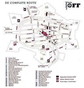 Festival-plattegrond