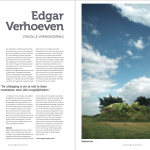 Focus Magazine article Edgar Verhoeven Spread 1